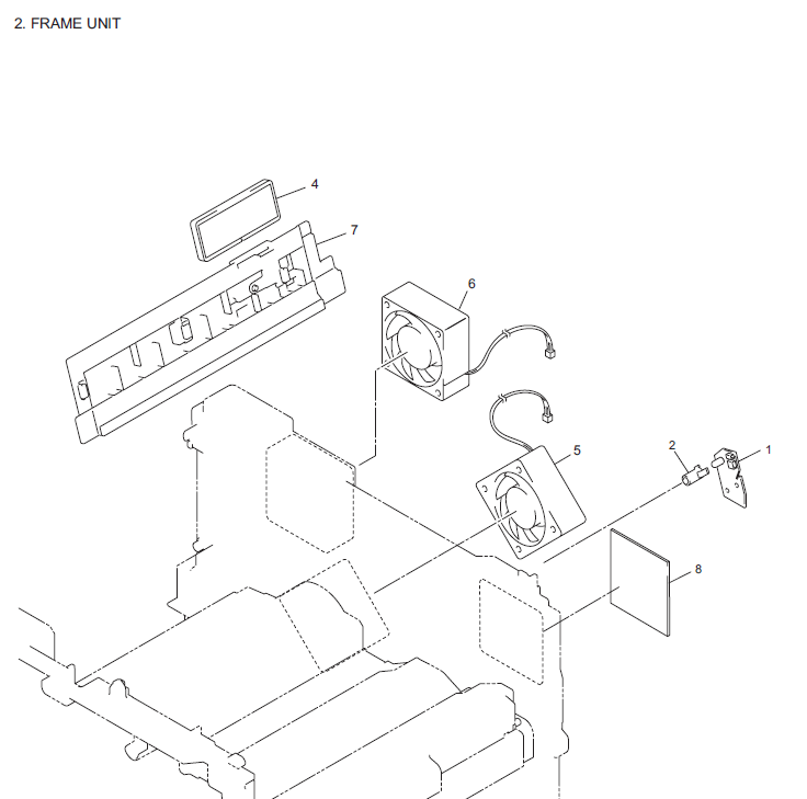 Brother Mfc 8881dnhy Parts List And Diagrams