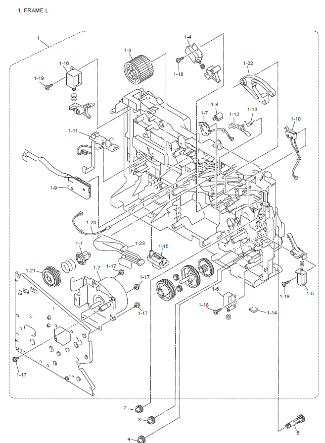 Brother Dcp 8065dn Parts List And Diagrams