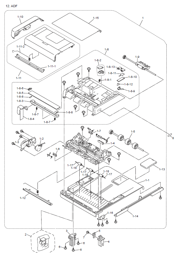 Brother Dcp 9055cdn Parts List And Diagrams