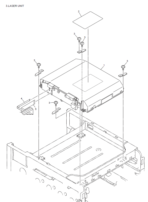Brother Mfc 9465cdn Parts List And Diagrams