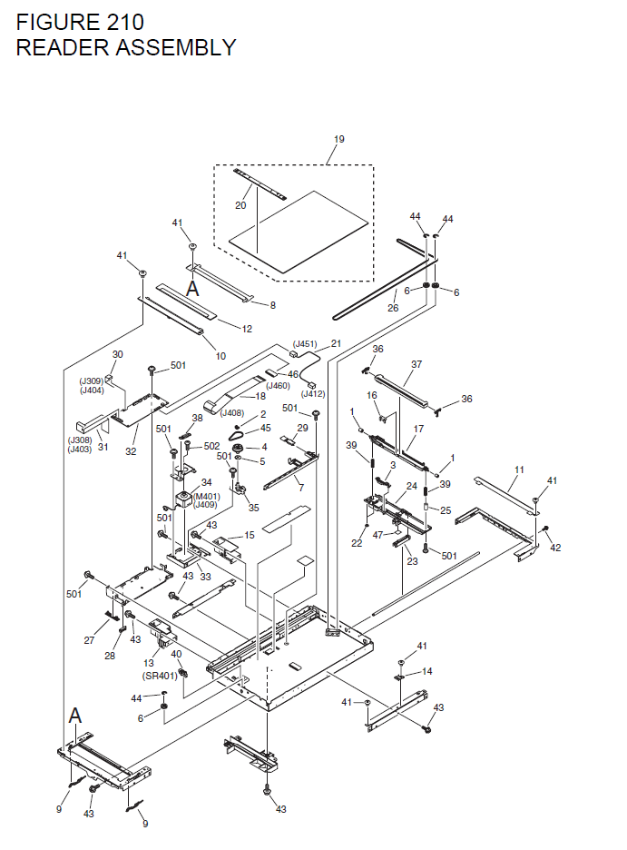 Canon I Sensys Mf6580 Parts List And Diagrams