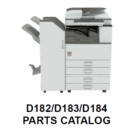 Lanier MP 3353 Parts List and Diagrams